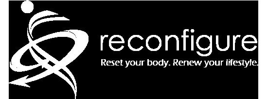 Reconfigure fitness logo